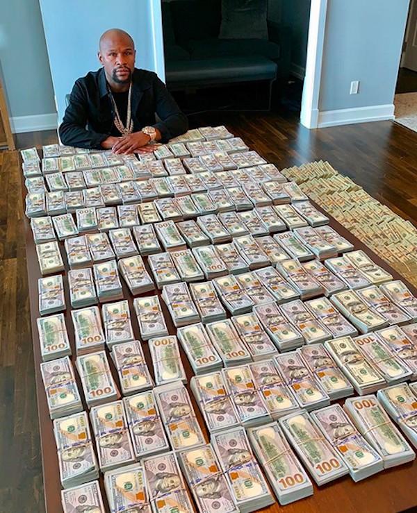 Floyd Mayweather payday.