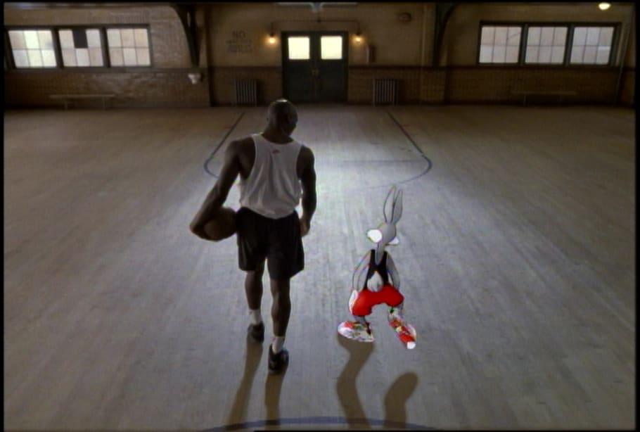 Pernalonga e Michael Jordan AD