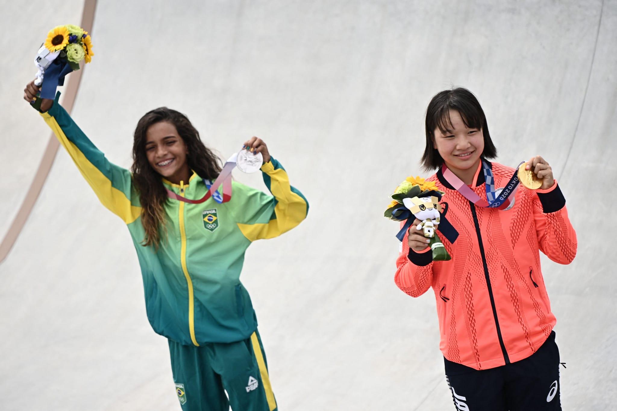 Medalhistas do Skate Street Feminino