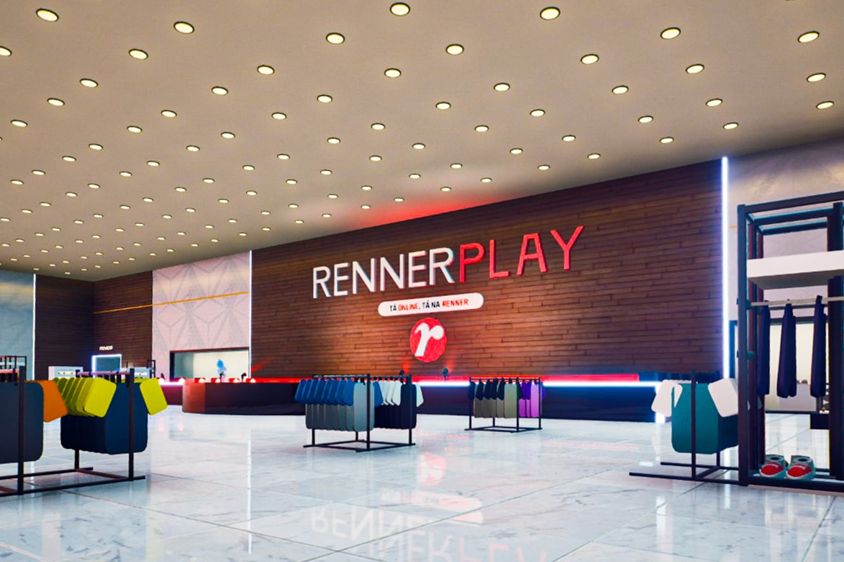 Loja virtual da Renner